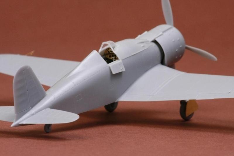 Resin model 1:72 Fiat G.50bis sbs7019// S.B.S Regia Aeronautica