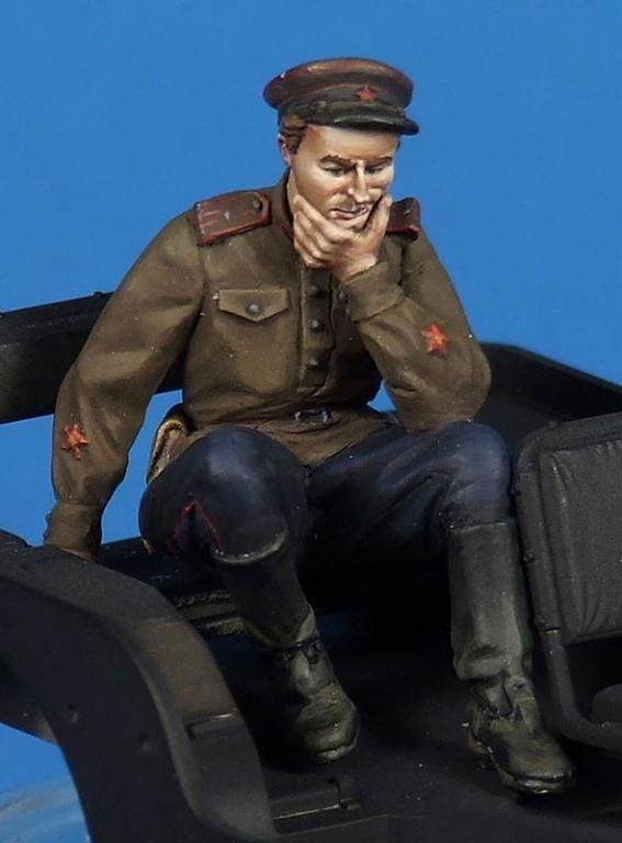 Soviet Officers Soviet Political Officer