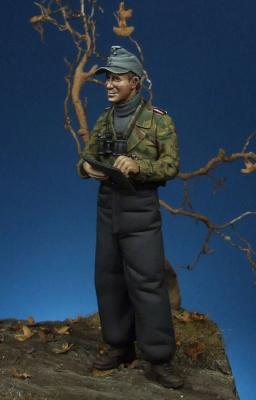 German panzer officer