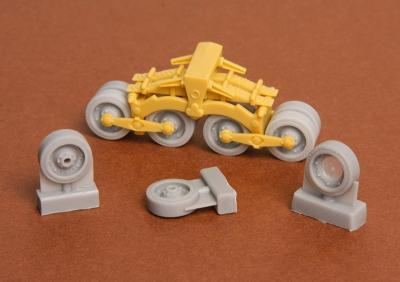 Zrínyi assault gun roadwheels set