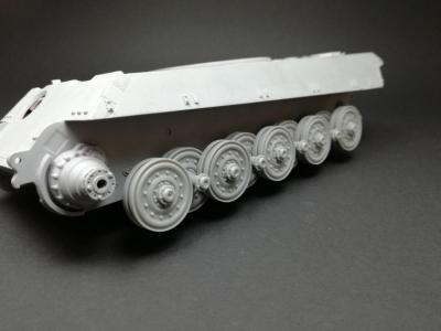 Sd.Kfz 182. 'King Tiger' roadwheel set for Meng kit