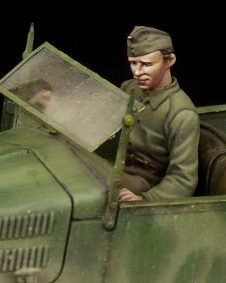 Hungarian driver for 508 CM Coloniale WW II