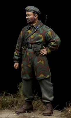 Italian Paratrooper Officer 'Nembo Division' WW II