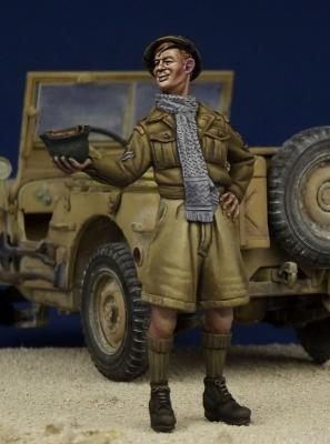 Desert Rat - British Soldier WW II
