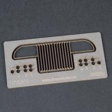Studebaker US-6 front grill (symmetrical, welded)