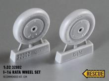 I−16 Rata wheel set for ICM kit