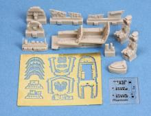 F-4E/F Phantom cockpit set for Revell kit