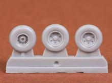Harrier GR.7/GR.9 wheel set for Airfix kit