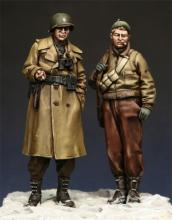 U.S. Infantry Officer and NCO