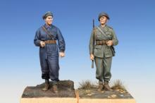 Swedish Tank Crewman & Infantry Soldier