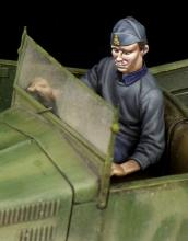 Italian driver for 508 CM Coloniale WW II