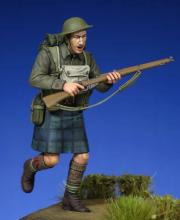 Scottish Black Watch Soldier WW II