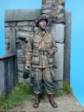 US Paratrooper WW II Normandy