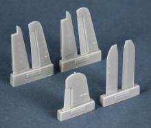 F4U-1D corsair control surfaces for Tamiya kit