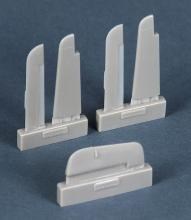 FW Ta154 control surfaces for Hasegawa kit