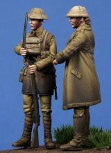 British Officer & Soldier WW I - 2.