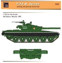 T-72 B/B1 turret for Tamiya kit - 2.