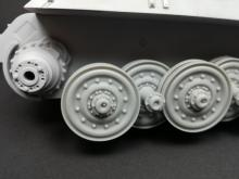 Sd.Kfz 182. 'King Tiger' roadwheel set for Meng kit - 7.