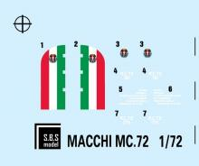 Macchi MC 72 'World Speed Record' full kit - 10.