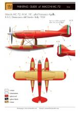 Macchi MC 72 'World Speed Record' full kit - 11.