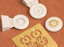 E.E. Lightning wheels for Airfix kit - 1.