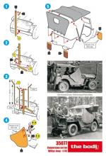 Conversion set for Willys jeep - 5.