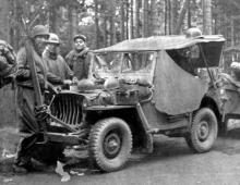 Conversion set for Willys jeep - 6.
