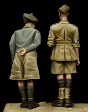 British NCO & Scottish Highlander Western Desert WW II - 2.