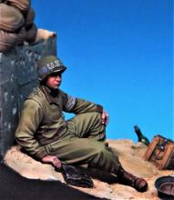 US Navy medic #1 WW II Normandy 1944 - 3.